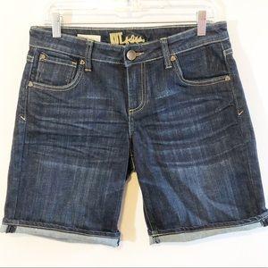 Kut from the Kloth Catherine boyfriend shorts 6